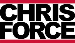 Logo Dj Chris Force Neu 2018 Hochzeits DJ - Event DJ Black